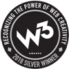 W3 Awards - 2018 Silver Winner Badge