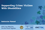 Supporting Crime Victims With Disabilities (English)
