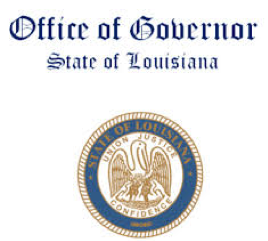 The State of Louisiana Office of Governor Logo