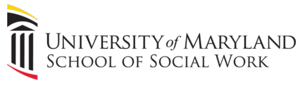 The University of Maryland School of Social Work Logo