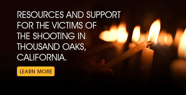 Resources/Support for Shooting Victims at the Borderline Bar & Grill in Thousand Oaks, California © Somkid Chaijitvanit/shutterstock.com