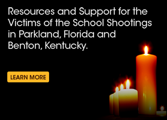 Resources/Support for Shooting Victims in Parkland, Florida and Marshall County