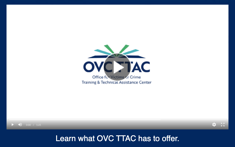 Screenshot of Introduction to OVC TTAC Video